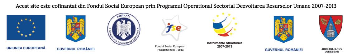 Acest site este cofinantat din Fondul Social European prin Programul Operational Sectorial Dezvoltarea Resurselor Umane 2007-2013